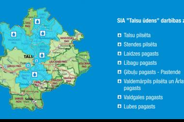 """Par jaunajām ūdens patēriņa normām SIA """"Talsu ūdens"""" klientiem"""