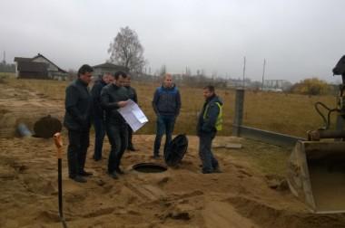 Noslēgušies ūdenssaimniecības projekta papildus darbi